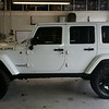 Jeep Wrangler Rubicon in White