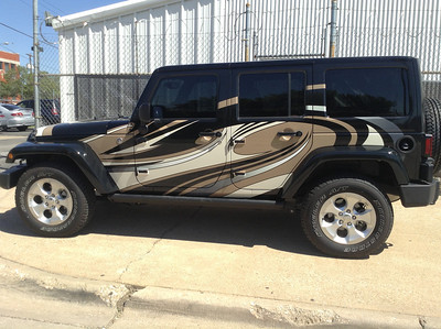 SkinzWraps Jeep Wraps