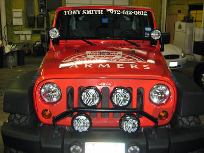 Vehicle Wrap for Farmers Insurance Agent Tony Smith in Dallas, TXwww.skinzwraps.com