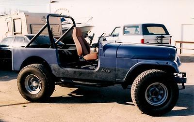 Rt Side after paint BMW Steel Blue Metallic 372