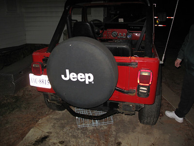 Jan 5  It's all stock, and still has the spare tire carrier