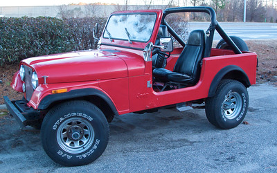 Jan 10 After a little more cleanup I removed the doors for a quick photo shoot.