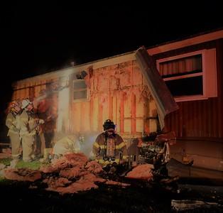 Propane Fire - Livonia, NY - 11/14/17