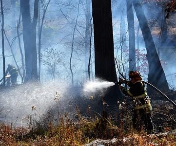 Brush Fire- Riverside Drive Johnson City, NY 11/24/17