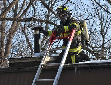 Chimney fire - East Lake Road Livonia, NY 12/9/19