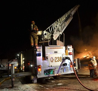 Commercial Building Fire - East Main Street Lima, NY 3/2/19