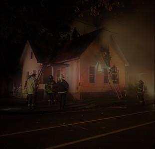 Rochester, NY House fire - 10/27/17