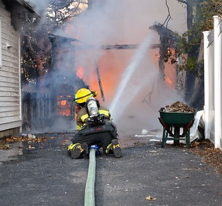 Structure Fire - Clinton Street, Avon, NY - 11/27/17