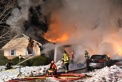 Structure Fire - Westview Crescent Geneseo, NY  3/2/19