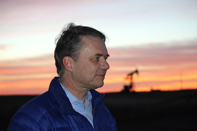 colyer outside Hays on Jan 31 2018 hours before swearing in