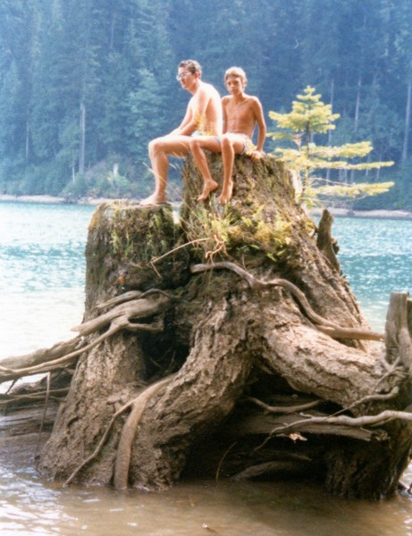 Swift Creek stump