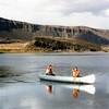 Canoeing on Alkali Lake