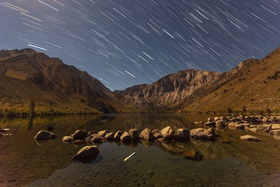 convict lake star trails