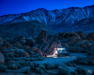 4 - Camping in the Alabama Hills