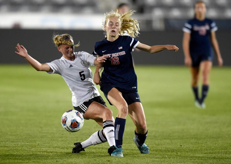 Jefferson Academy vs Kent Denver 3A Soccer Championship