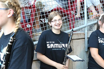 Jefferson Band at the Kernels game  8/16