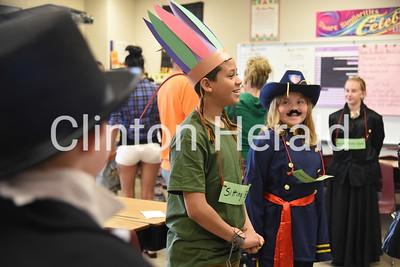 Jefferson Elementary 5th grade Famous Historian Wax Museum 4-27-18