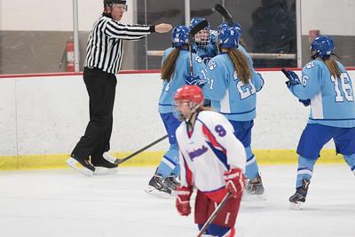 JGH Varsity Hockey at Simley