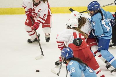 Jaguar Girls Hockey at BSM