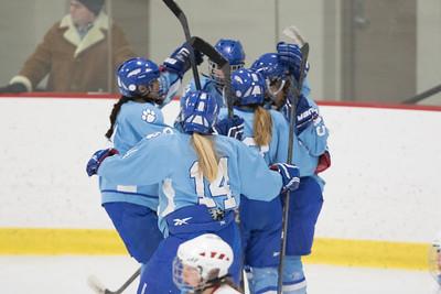 Jefferson Girls Varsity Hockey at Mound