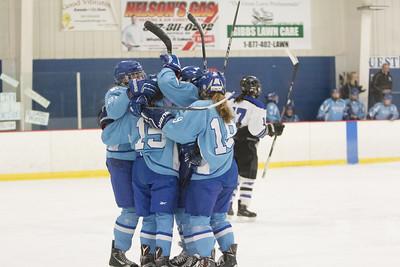 Jefferson Varsity Girls Hockey at Dodge County