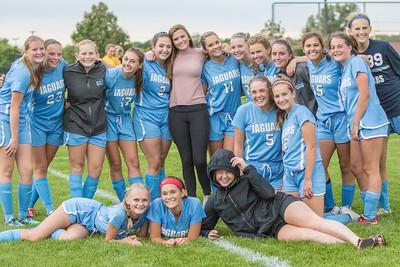 JHS JV Girls Soccer 2016