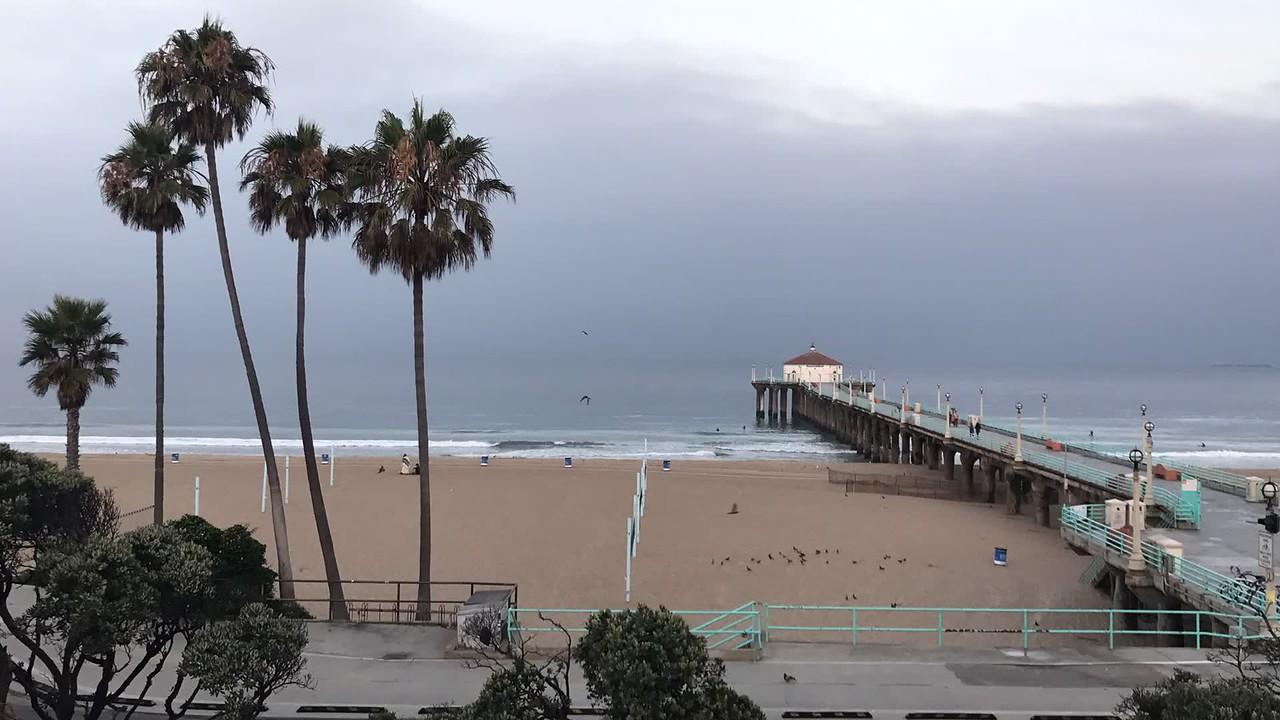 Time-Lapse look at Manhattan Beach