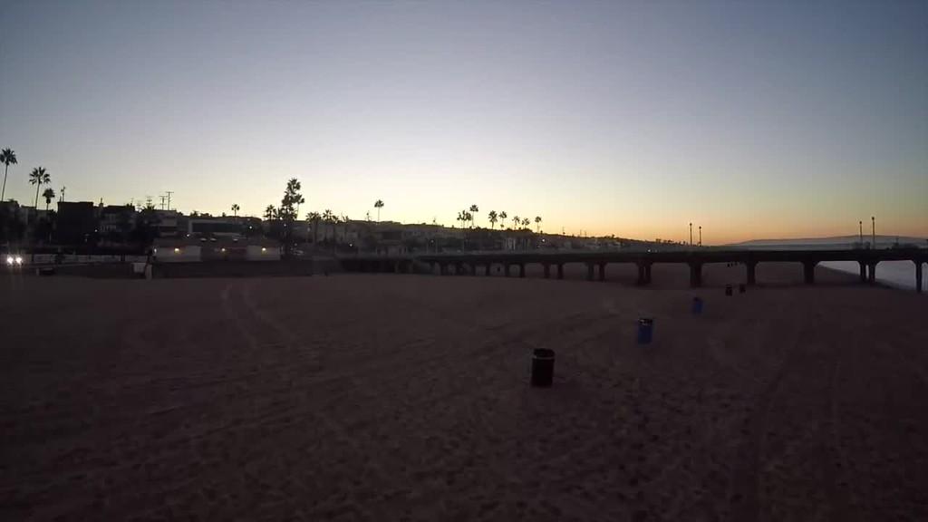 Soaring over Manhattan Beach