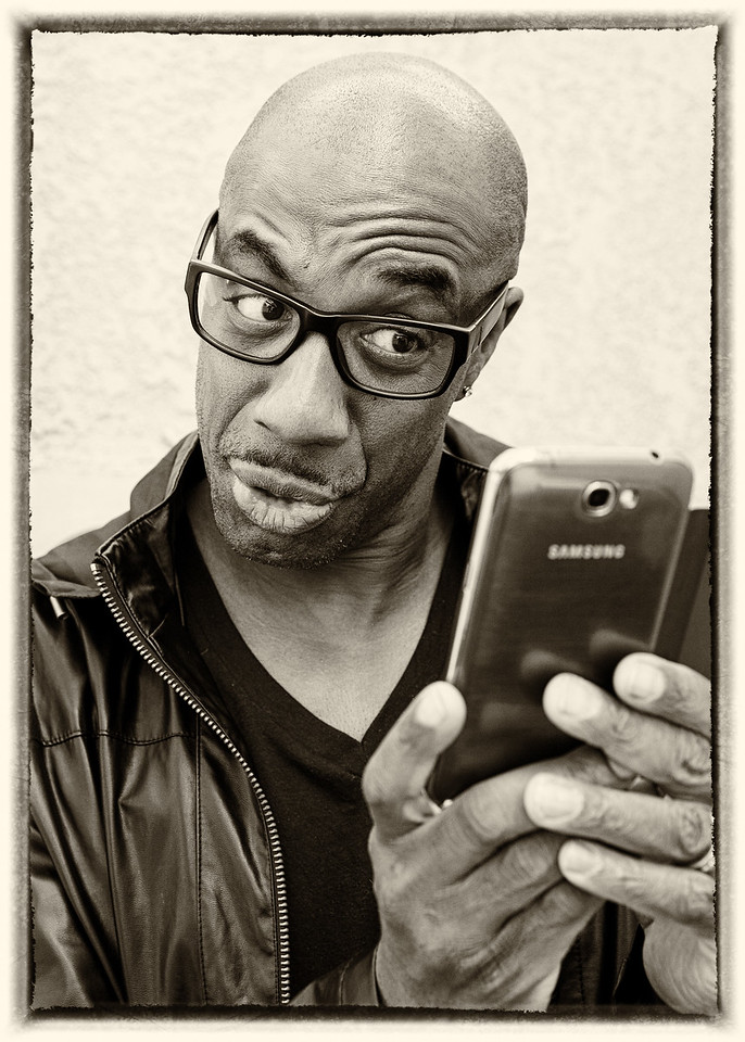 JB Smoove and his Galaxy