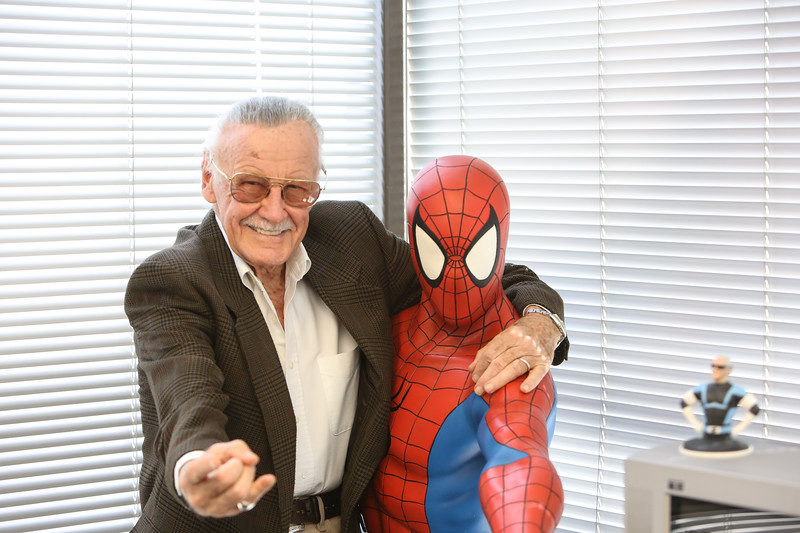 Stan Lee and a certain Spiderman