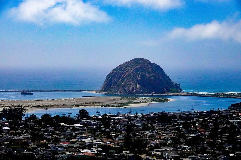 """Morro Bay Rock"""