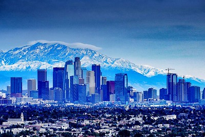 Los Angeles in Winter