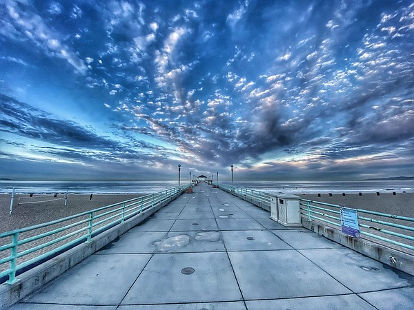 """""""Clouds over the Pier"""""""