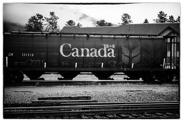 Train in Jasper