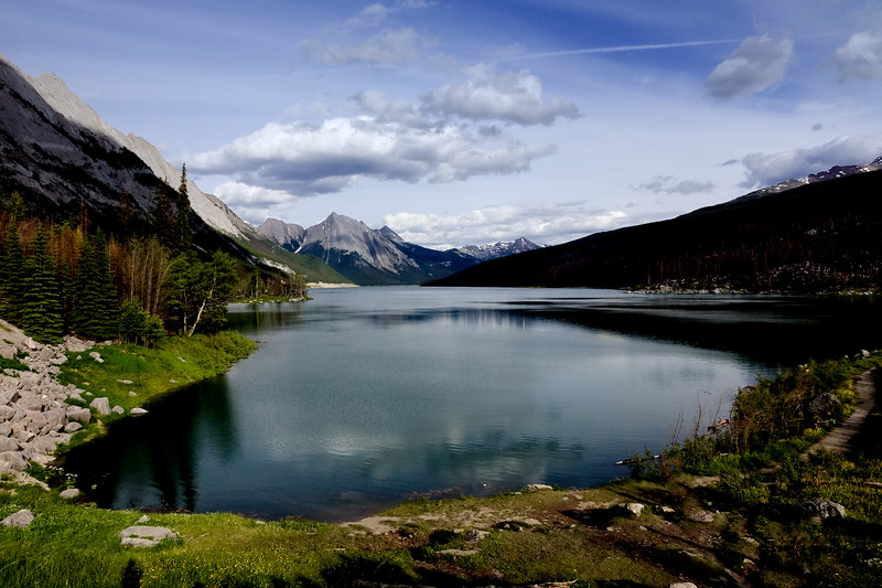 A lake near Jasper National Park