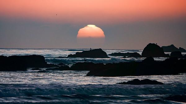 """Cayucos Sunset"""