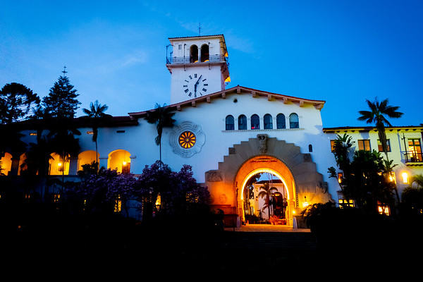 """Santa Barbara County Courthouse"""