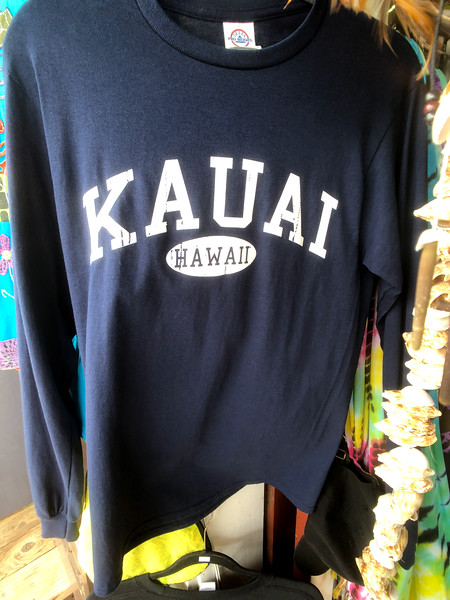 A t-shirt for Kauai Hawaii