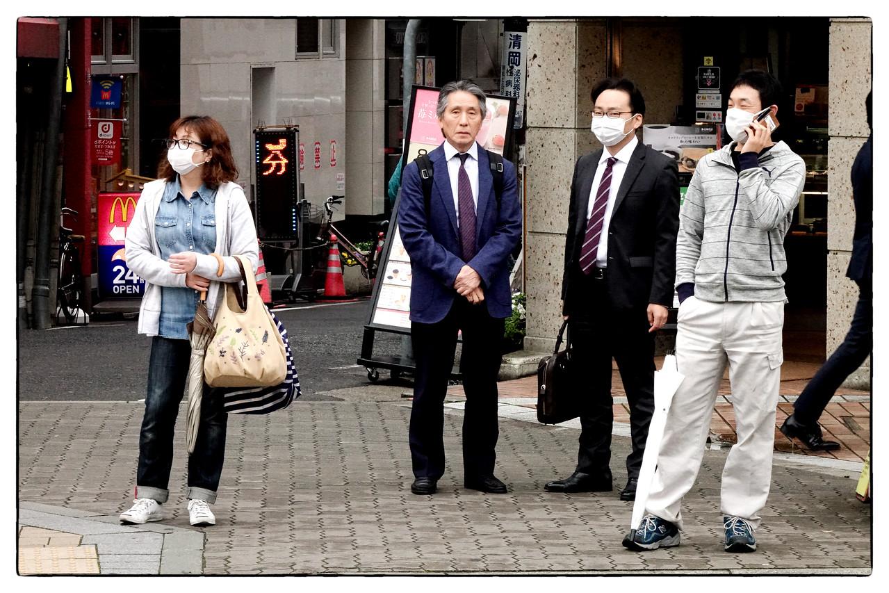 Street scene in Kobe