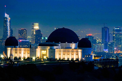 """Griffith Observatory at night"""