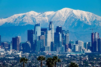 Snow Day in Los Angeles