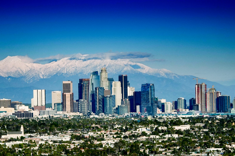 """Snow Day in L.A."""