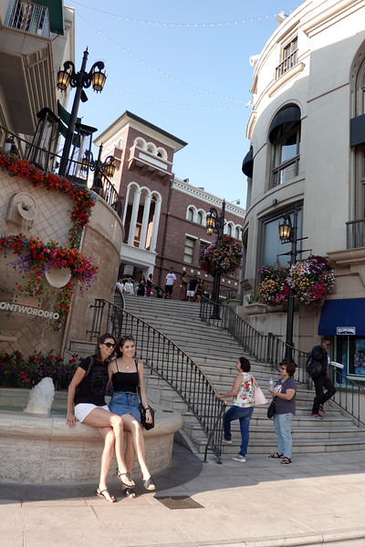 Rodeo Two is the even glitzier section of Rodeo Drive, the high-rent shopping district in Beverly Hills, and a popular spot for tourists