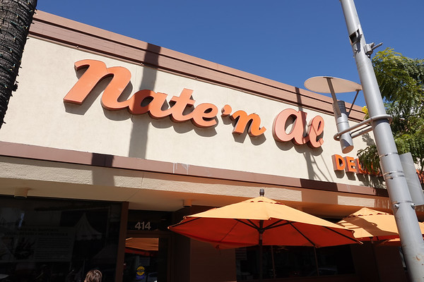 The Nate 'n Al deli is a Beverly Hills institution.