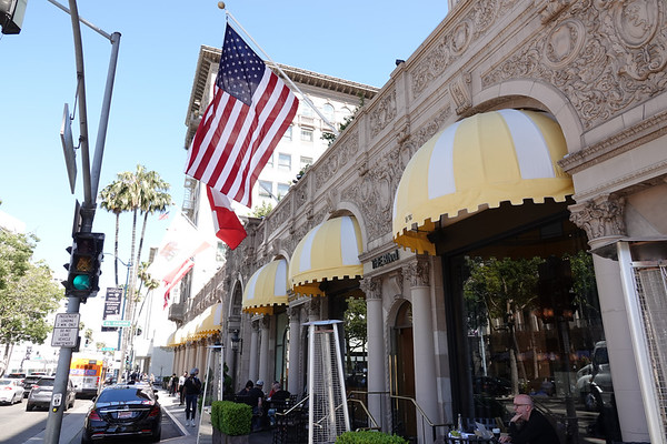 """The Beverly Wilshire Hotel is a longtime tourist favorite, and was the setting for the hit movie """"Pretty Woman,"""" with Julia Roberts and Richard Gere."""
