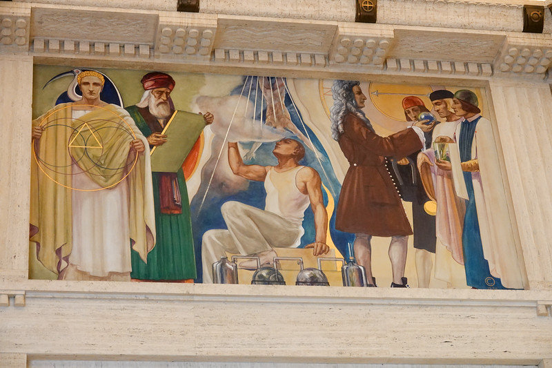 Griffith Observatory mural