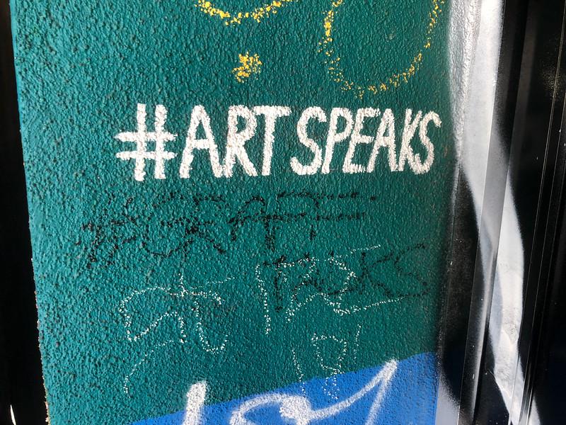 #Artspeaks