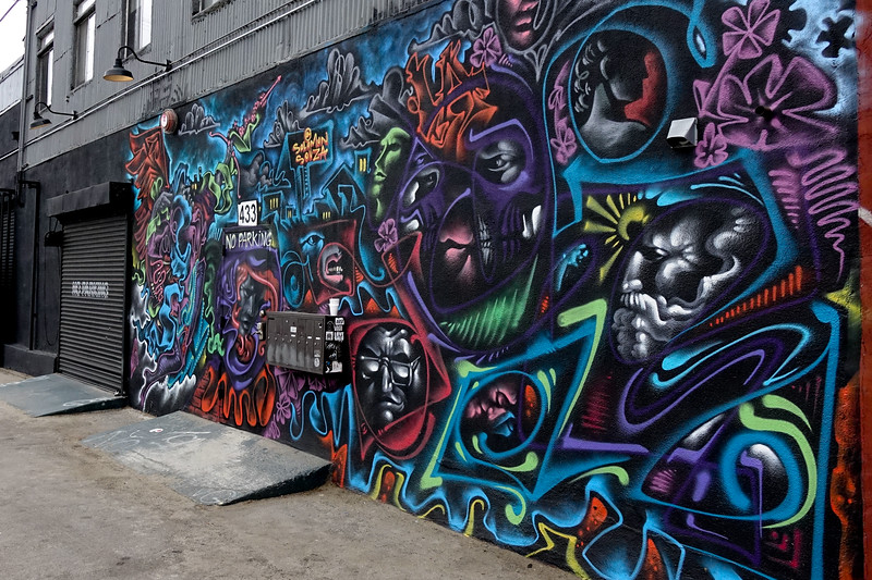 L.A. Arts District mural