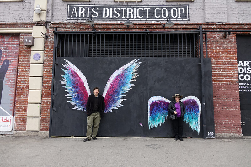 Posing with wings