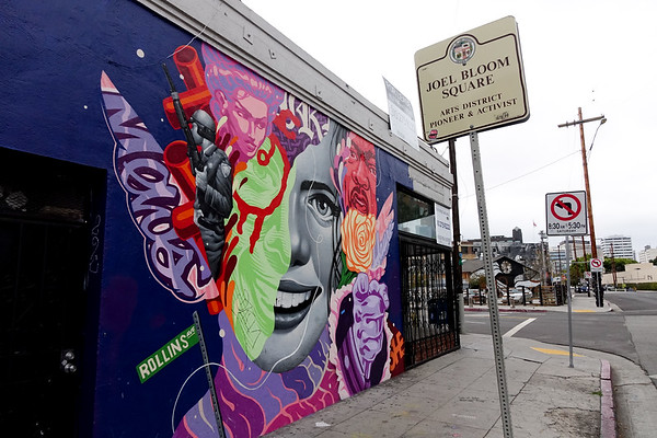 L.A. Arts District Photowalk